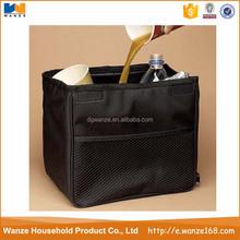 Stylish fabri customized storage bag for car / car trash bag