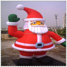 lowes chongqi inflatable snata christmas decoration for advertising