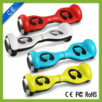 Fashionable model design colorful mini smart two wheels scooter hoverboard kids board factory price