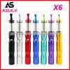 Aslice e cigarette mod variable voltage battery 1300mah X6 variable voltage colorful X6 battery with CE4 atomizer