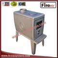 madera estufa de la cocina de tipo superior de salida de humos estufa de hierro fundido de la quema