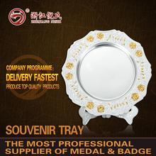 2015 Super-Quality and Cheap tourist souvenir plate /metal plate