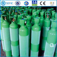 EN ISO9809-1 Standard Oxygen Use and Steel Material Oxygen Cylinder