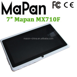 android laptop 7 inch mini, mapan tablet pc mx710f, quad core android mini wifi tablet