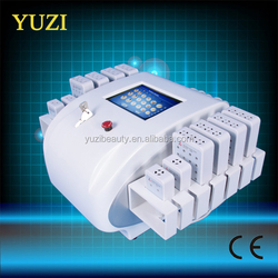 12 pads lipolaser 650nm&980nm Top quality Professional Dual Lipo Laser Slimming Machines