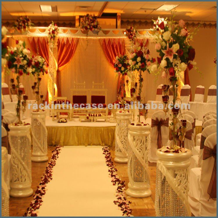 Wedding Stage Decoration Price : Rk good selling wedding stage decoration curtain