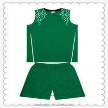 Popular de excelente calidad uniforme del baloncesto femenino