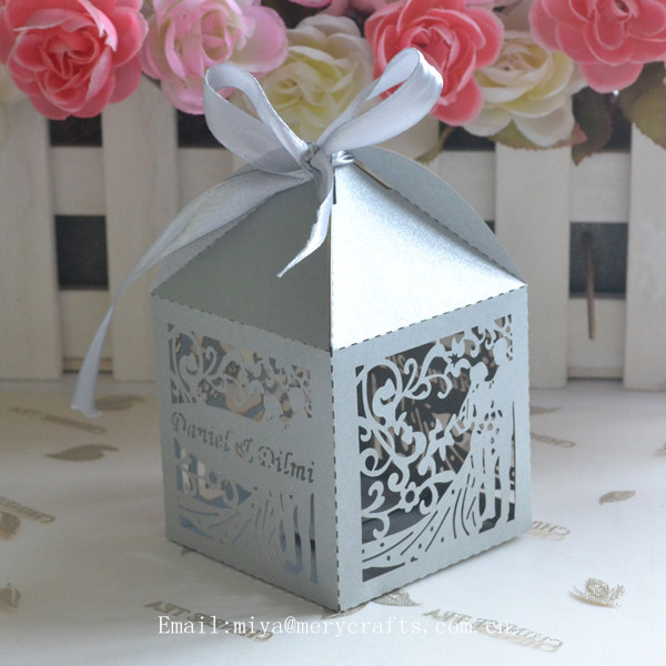 Buy Wedding Gift Box : Favor Boxes,Romantic Wedding Gift Box Candy PaperBuy Wedding Gift ...