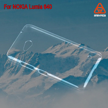 For NOKIA LUMIA 640 - Fusion Gel Cover Hard Fusion Gel Hard Case / Cover / Skin) clear for NOKIA LUMIA 640