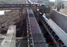 MINERAL RUBBER BELT CONVEYOR USED IN ORE DRESSING PLANT
