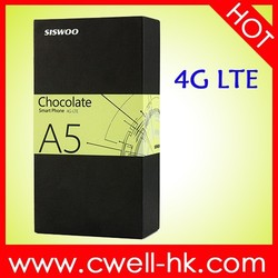 Original 5.0 Inch SISWOO Chocolate A5 SmartPhone MTK6735 Quad Core 1GB 8GB Android 5.1 4G LTE Smart Phone
