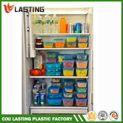 11PC Plastic Container Set Spin and Store , Plastic Food Container