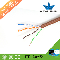 Alibaba Express Cu Standard Copper 24 AWG UTP Lan Cable Cat5