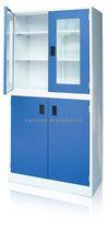 Wooden file storage cabinet