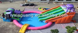 2015 summer promotions inflatable water park games aqua water bird