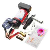2015 New 12V Portable Electric Pump for Diesel Oil Submersible Transfer Pump 40L/Min Motor 175W