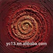 popular moderno abstracto pintura obras de arte sobre lienzo pesado con pintura de color