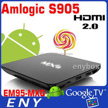 4K, h.265, Amlogic S905, better than s805 mxq, internet android tv box