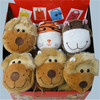 kids shopping bag, tiger/cow/lion/sheep/donkey/duck animal bag for shopping accept OEM