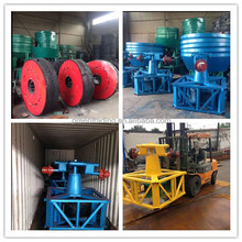 1200A 1200 1200B 10T/D Edge Runner Mill CIQ CO Approved Gold Wet Pan Mill from China With Gearbox For Free