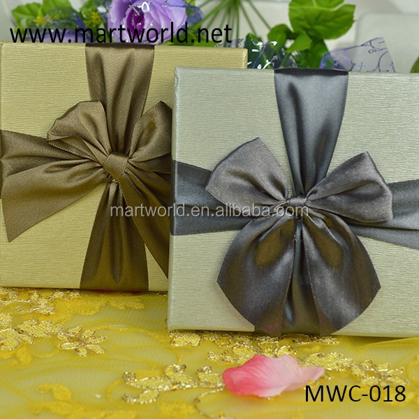 Check For Wedding Gift Amount : elegent square check wedding favor gift boxes,gift boxes for wedding ...