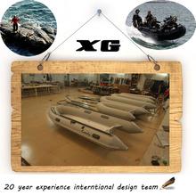 CE 300cm Cando Hypalon/PVC Inflatable fiberglass hull cruise ships for sale