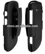 Belt Clip Shell Holster Hybrid Case+Stand for Blackberry Bold 9900 9930