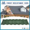 Stone Coated Metal Roofing Tile / Textured Metal Roof / Decorative Ridge Tiles