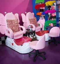 La venta directa de cómodas buen precio silla spa / niños pedicura silla