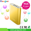 2015 High Quality Power Bank 10000mAh External Battery Charger Power Bank for iPhone, Xiaomi, Lenovo