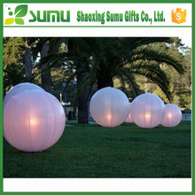 logo printing promotional led beach ball light