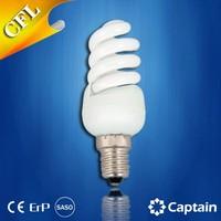 Full Spiral CFL bulb 9W E27 Energy saving bulb T2 energy saving light