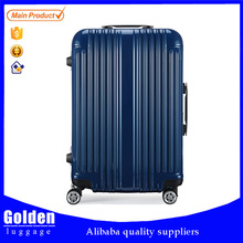 Ladies fashion spinner travel luggage ABS Hot-sell PC+ABS 3pcs trolley suitcase set/luggage
