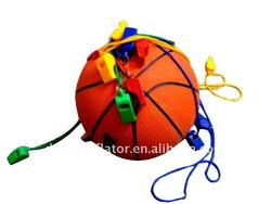 Colorful ABS Basketball Whistle
