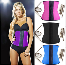 2015 latex body shaper latex waist cincher wholesales