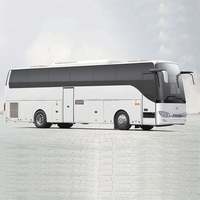 High quality 60 seater Chinese bus luxury bus price of a new coach automobile cars