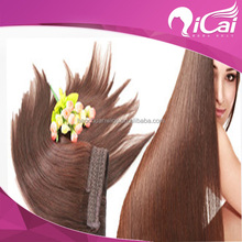 factory wholesale remy human flip in hair extensions silk straight hair