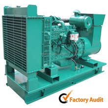 Alta eficiencia eléctrico abra motor Diesel de tipo silencioso-5kw ISO aprobados