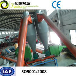 Crumb Rubber Waste Tire with Rim Guard Tire Recycling Plant