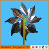 embossed metallized holographic plastic film