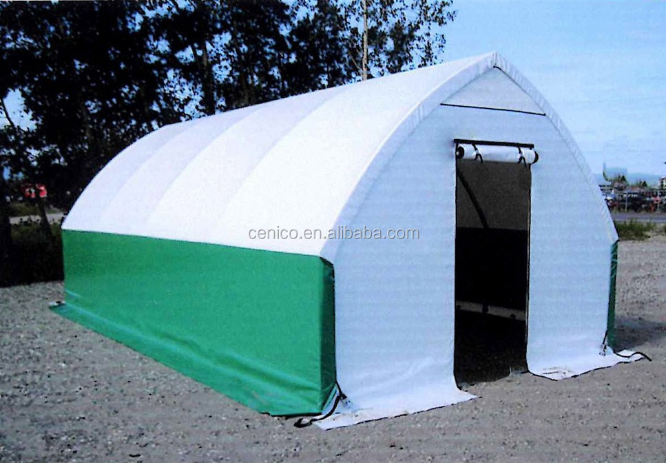 Vehicle Storage Shelter : Pitched roof car garage tent port backyard storage