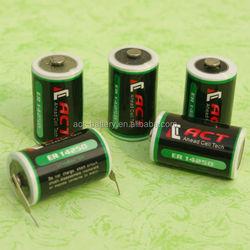 ACT LS14250 1.2Ah 1/2AA 3.6V Lithium ER14250h Battery