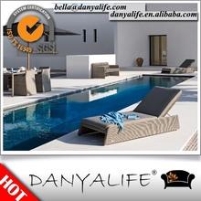 DYBED-JN23 Danyalife Deluxe Man-made Wicker Aluminum Outdoor Lounge