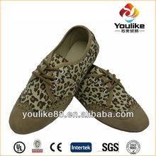yl7606 leopard sexy dama de zapatos