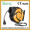 spring cable reel manufacturer 15m automatic power cable reel 15m extension cable reel