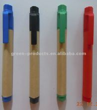 promotional mini recycled paper triangle highlighter pen (TNP012TH)