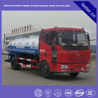 FAW Jiefang 10000 Liter water tank truck, hot sale of 10000L water truck/sprinkler