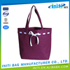 China low price fashion eco-friendly plain white cotton canvas tote bag