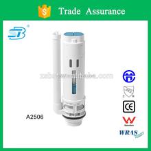 Toilet flush valve with steady flush volume (A2506)