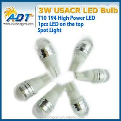 ADT factory Wholesale t10 USA CR SMD 3W Backup Reverse Light High Power Spot light